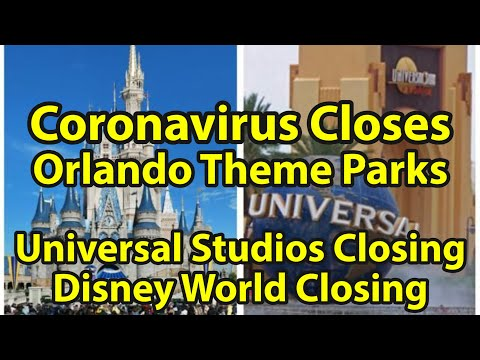 Coronavirus Closes Disney World & Universal Studios | Covid-19 Effect On Orlando Theme Parks & Me