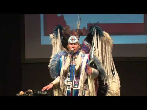 Music, Diversity, Dance | Supaman (Christian Parrish) | TEDxMSUBillings