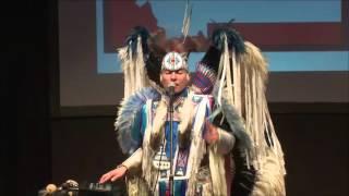 Music, Diversity, Dance | Supaman (Christian Parrish) | TEDxMSUBillings