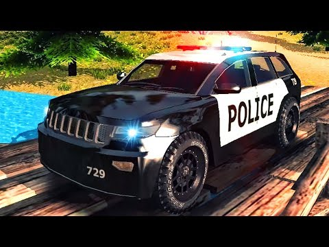 Police Car Driving Offroad - 3D Simulator