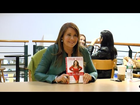 """Lorraine Bracco Meets High School Mates and Signs Her Book """"To The Fullest"""" at the Book Revue"""
