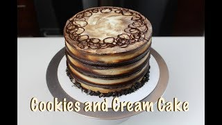 Easy Cookies and Cream Cake  CHELSWEETS