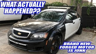 Our Plan For Repairing Our Blown up Caprice Cop Car! S10,BMW, And Crown Vic Updates!
