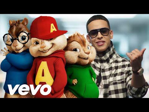 Sígueme y Te Sigo - Daddy Yankee | Alvin y Las Ardillas 2015