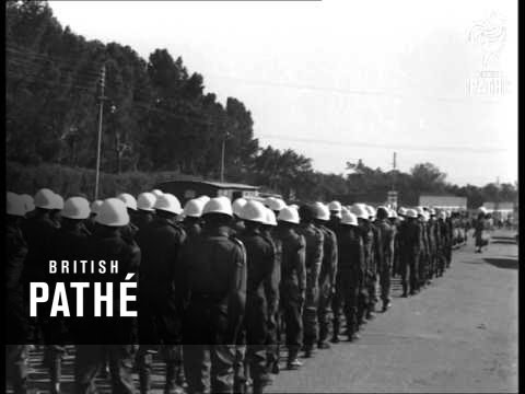 Display Of Strength In Bulawayo Follows Riots (1962)