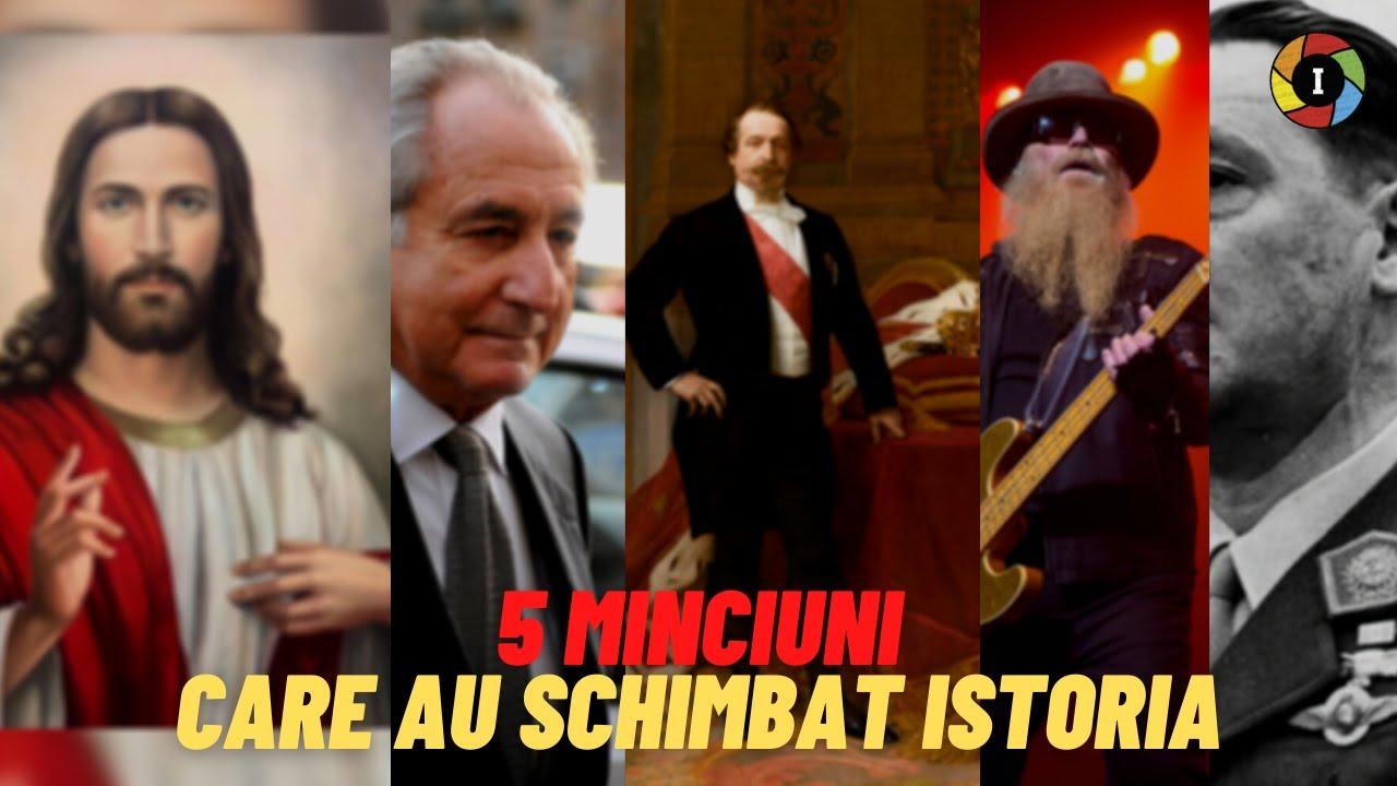 5 MINCIUNI care au schimbat Istoria