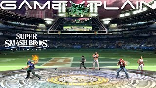 King of Fighters Stadium Stage Normal, Battlefield, & Omega Forms Showcase - Smash Bros. Ultimate