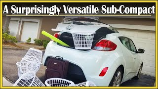 2015 Hyundai Veloster Review: A Practical 3-Door Hatchback? | Drive And Be Driven Cargo Review