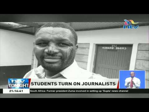 Standard Media Group Journalists Attacked At St. Stephens Girls Sec. School