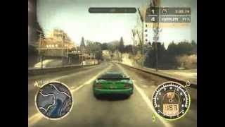 Need For Speed Most Wanted(2005)Gameplay PC