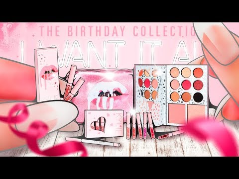 DIY Miniature ALL KYLIE COSMETICS 20 Birthday Collection! | Review