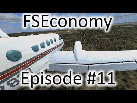 FSX | FSEconomy - Ep. #11 - Belle Fourche, South Dakota