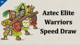 Aztec Elite Warriors (speed draw)
