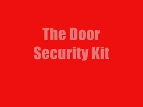 Door Security Kit: Featuring the Door Security Pro Door Security Guard