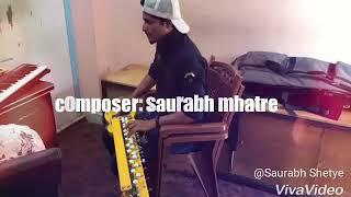 #Sawan mahinama song by banjo master SAURABH MHATRE .