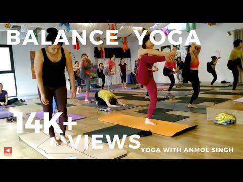 Balance Yoga Class | 50 minutes yoga class | Anmol Singh | Vietnam |Shivom Yoga & Dance