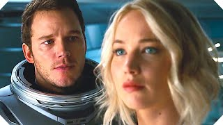 Repeat youtube video PASSENGERS Official Trailer #2 (2016) Jennifer Lawrence, Chris Pratt Sci-Fi Movie HD