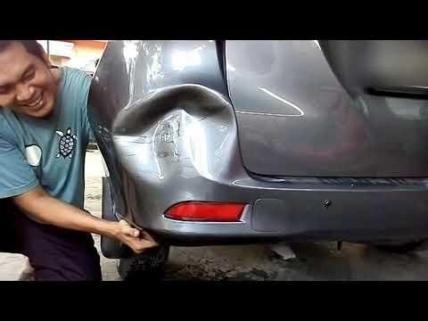 Mobil penyok bisa diatasi dengan air panas