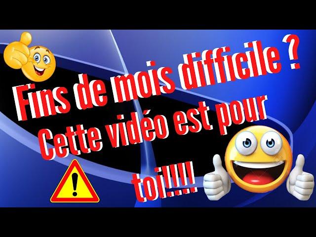 Fins de mois difficile ? cette video est faites pour toi !!! parodie Orelsan