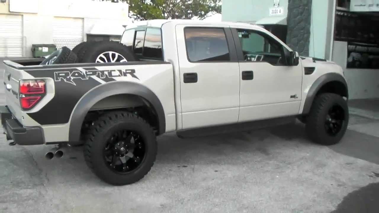 Dubsandtires Com 2013 Ford Raptor Svt Review 20 Inch 20x12 Fuel