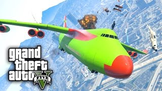 CRAZY ANGRY PLANES MOD CHALLENGE - GTA 5 PC Mods and Challenges