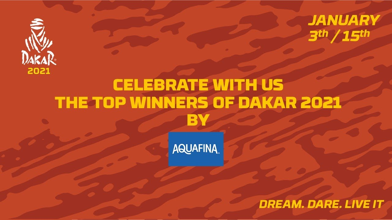 #Dakar2021 - Top 3 by category presented by Aquafina