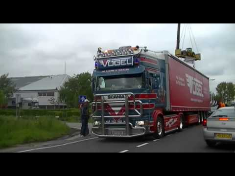 Vogel Transport Scania R500 Sound!!!!