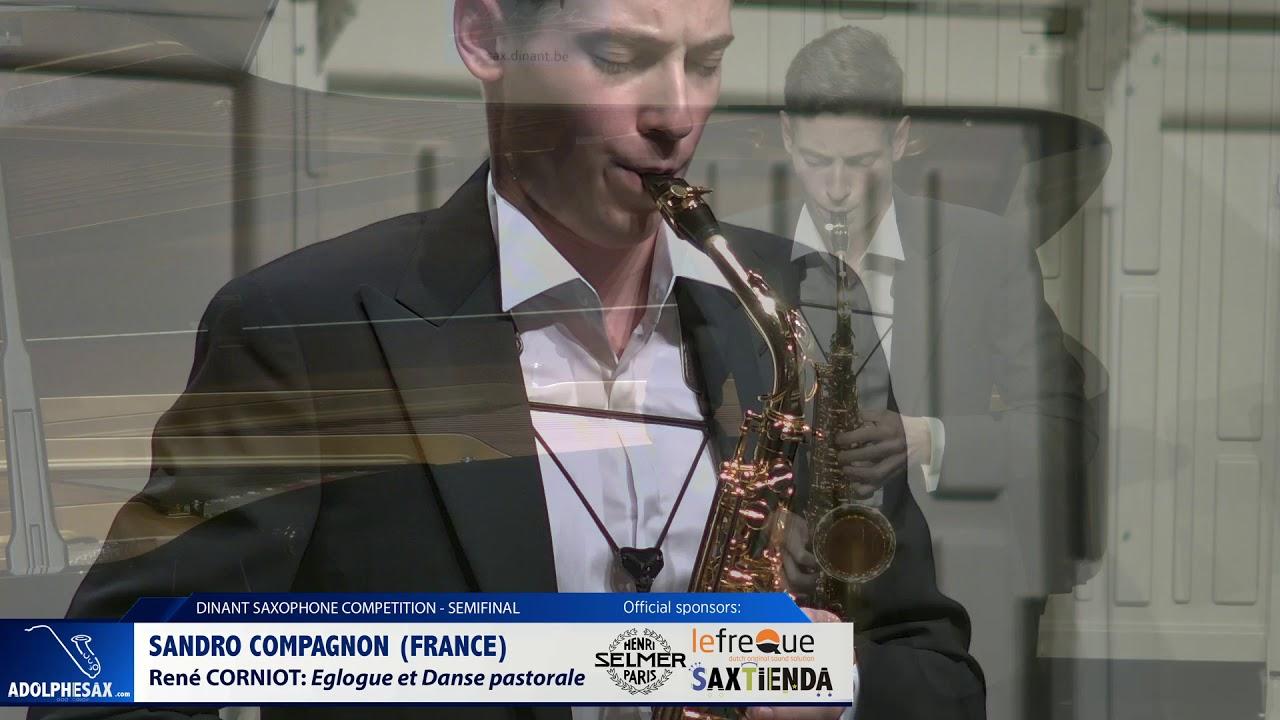 Sandro Compagnon (France) - Eglogue et Danse pastorale by René Corniot  (Dinant 2019)