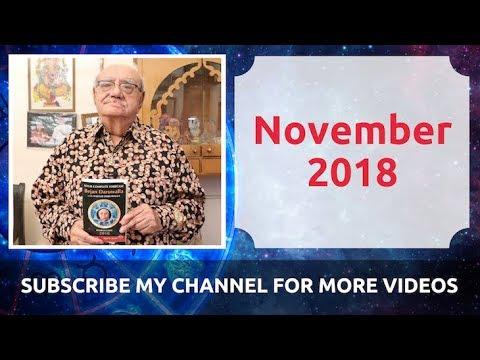 NOVEMBER 2018 – MANTRAS OF JUPITER – ASTROLOGER GANESHA BEJAN DARUWALLA WITH SON CHIRAG