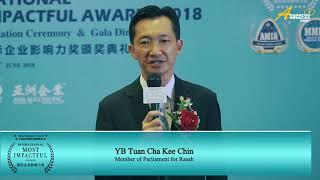 MIA2018 Special Interview - YB Tuan Cha Chee Kin