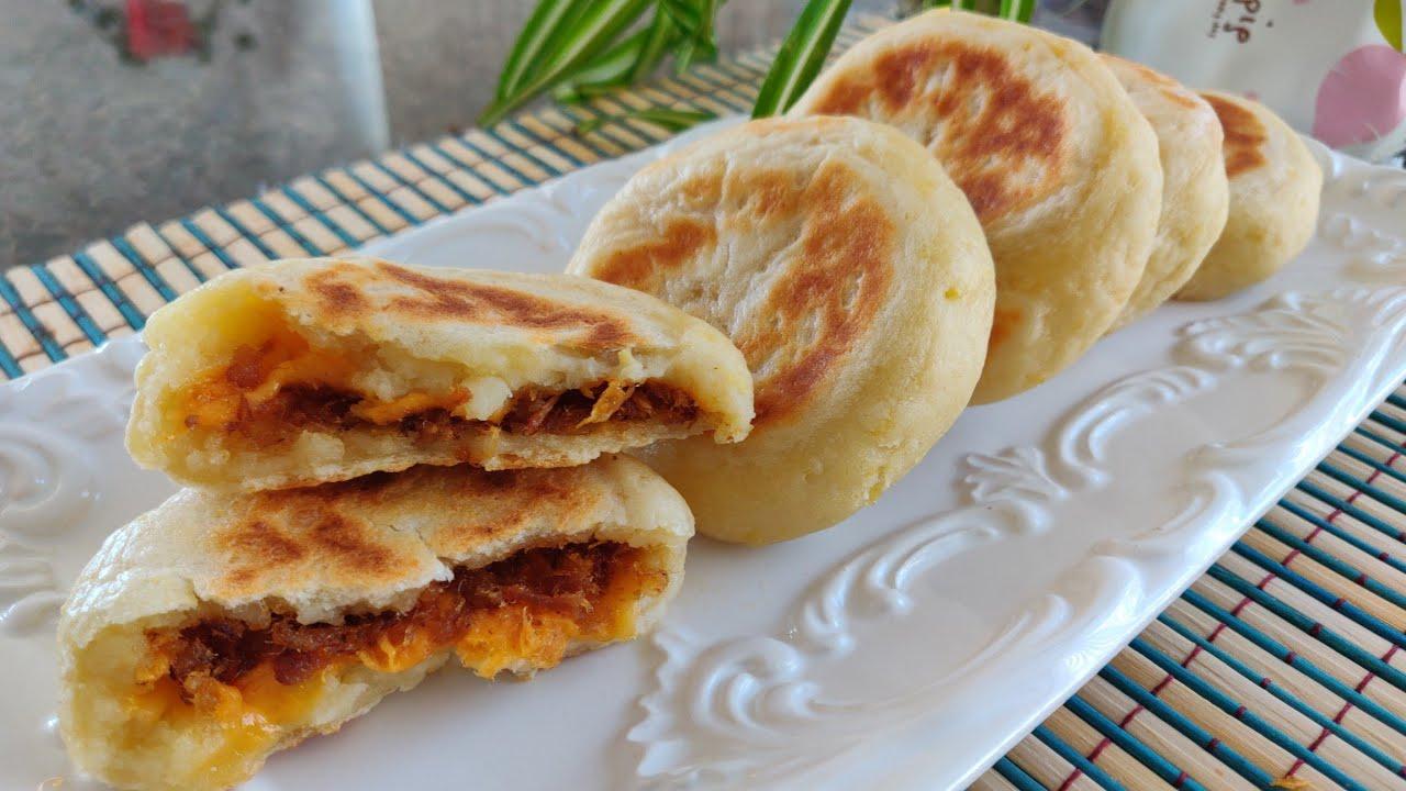 豆腐糯米饼 豆香软糯有营养 Soft Tofu and glutinous rice flour cake