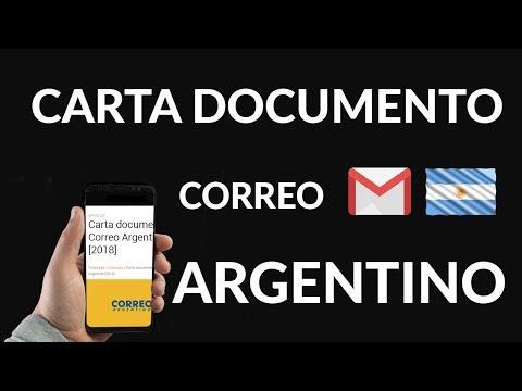 Cómo Enviar Carta Documento Correo Argentino