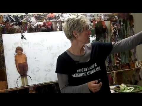Artist Studio Visit - Sheila Norgate