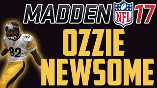 92 overall ozzie newsome gameplay and review madden ultimate team 17