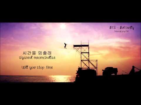 BTS - Butterfly (Eng/Greek/Hangul/Romanization) CC