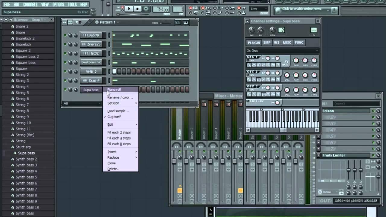 Писать на программа музыку компьютере