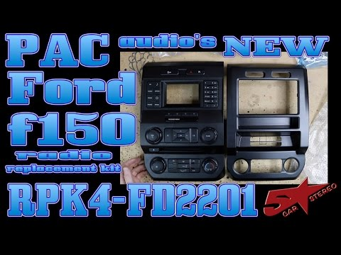 PAC Audio's New Ford F150 Dash Kit The RPK4 FD2201