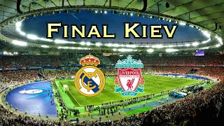 Hala Madrid y Nada Más/You'll never walk alone Final Kiev! 4K