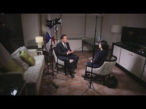 An interview with President of Panama Juan Carlos Varela