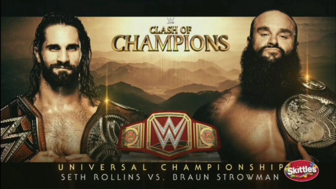 Download WWE Clash Of Champions 2019 Official and Full Match Card