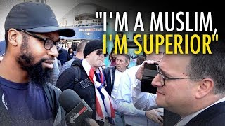Ezra Levant interviews Jihadi in London