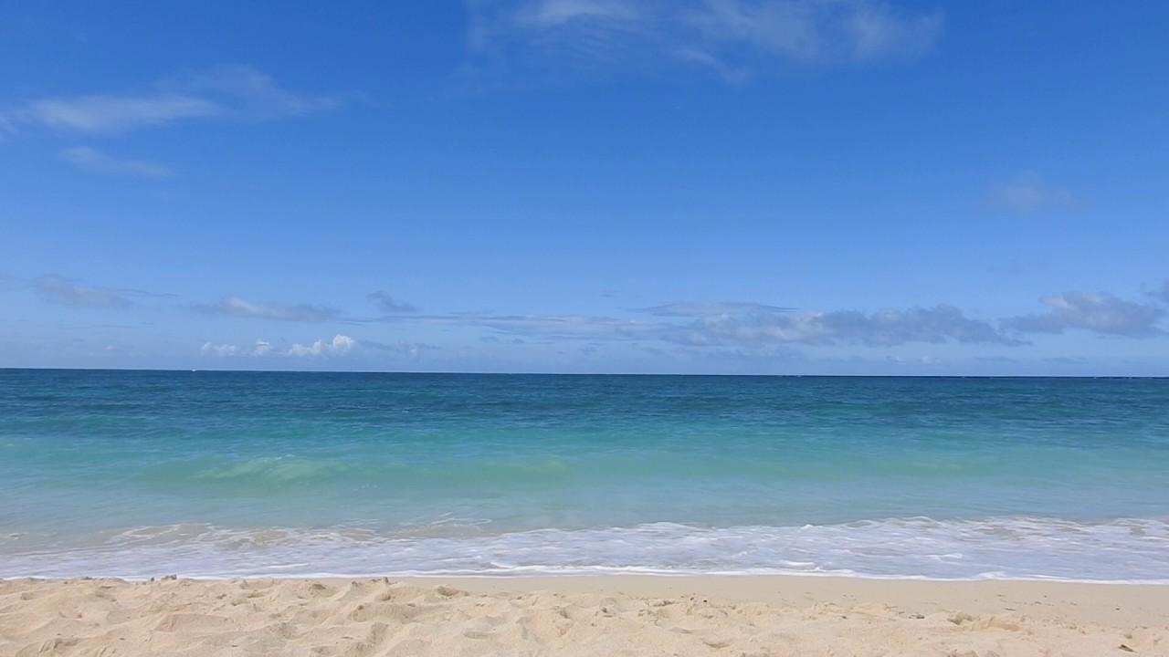Hawaii Beach Scene HD YouTube