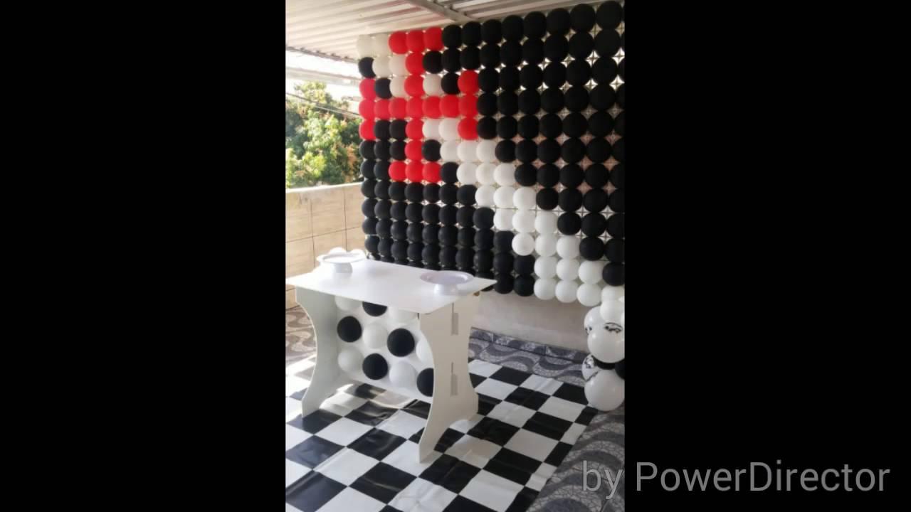 Decoração de festa Tema Vasco - YouTube 5319740679406