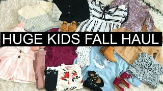 Hi guys! Today's video is part 2 of the kids Fall clothing haul! I ...