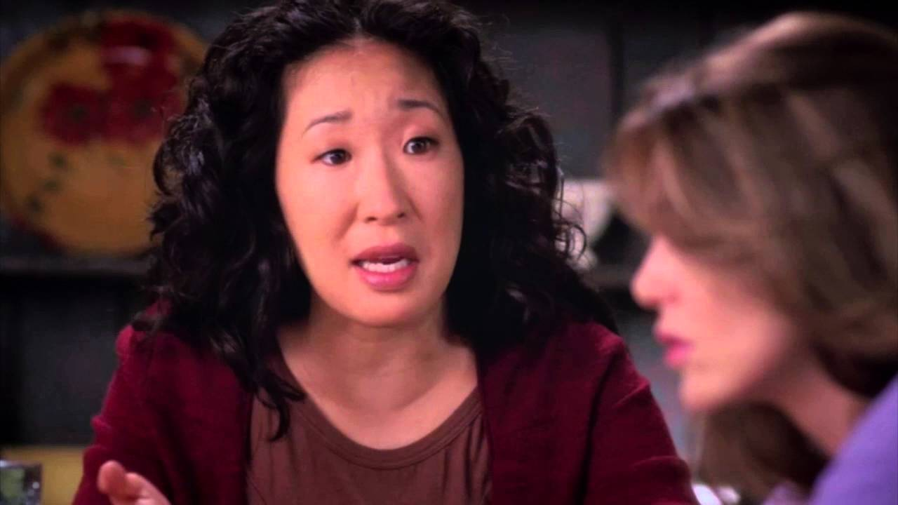 3X01 - Meredith and Cristina \'\'You and McDreamy did the nasty nasty ...