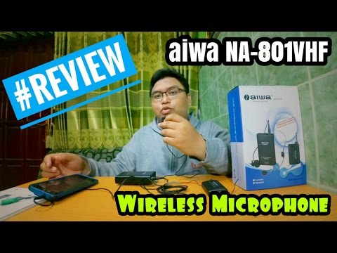 Gadget - Review Aiwa NA-801VHF (Wireless Microphone)