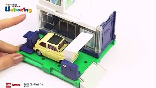 [Unboxing] Tomica Build City Basic Set - Funnyland