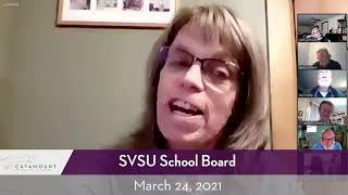 SVSU School Board // 03/24/21