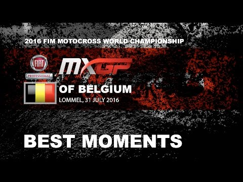 MXGP Best Moments Fiat Professional MXGP of Belgium 2016