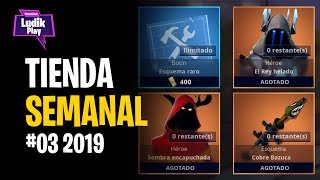 #03 WEEKLY STORE: ICE KING, ELECTRIC FIELD, ASESINACAZADORES ? FORTNITE SAVE THE WORLD